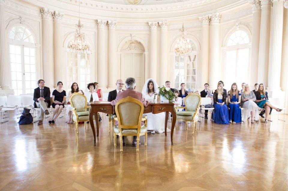 Hochzeitsfotograf Stuttgart | Standesamt Hochzeit Schloss Solitude