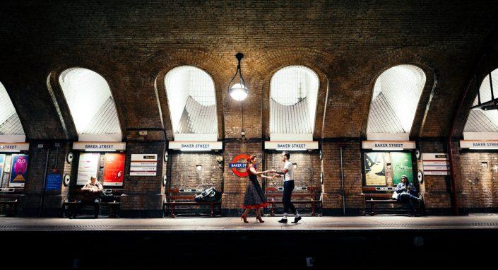 50s Engagement SHooting London